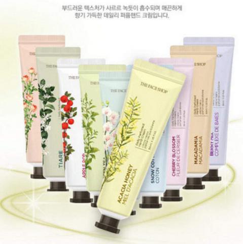 Kem dưỡng da tay The Face Shop Daily Perfumed Hand Cream từ Hàn Quốc