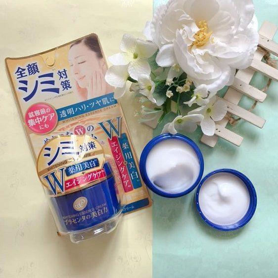 Kem dưỡng trắng da ban đêm chống lão hóa Meishoku Essence Cream