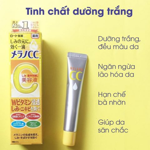 Kem Dưỡng Rohto Melano CC Moisture Cream 23gr
