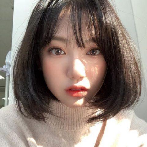 Tóc tém Hàn Quốc uốn chữ C