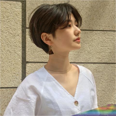 Tóc ngắn tomboy Hàn Quốc cá tính