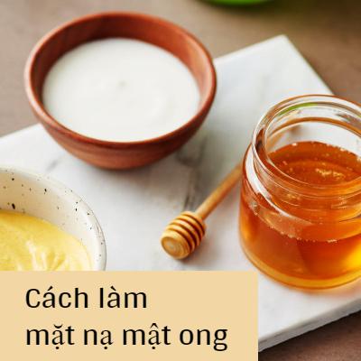 Mặt Nạ Cho Da Khô bong tróc làm bằng mật ong
