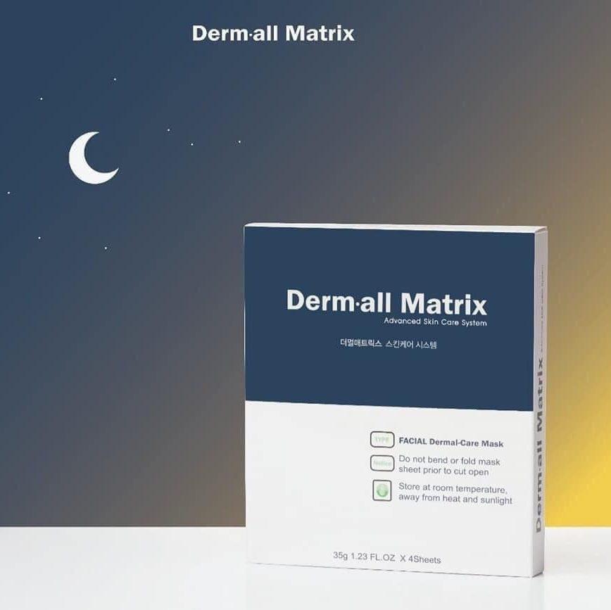 Mặt nạ collagen Hàn Quốc Derm all matrix