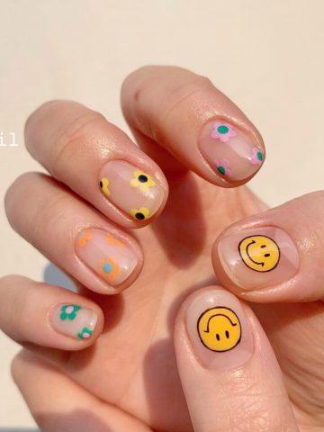 nail đẹp cho học sinh