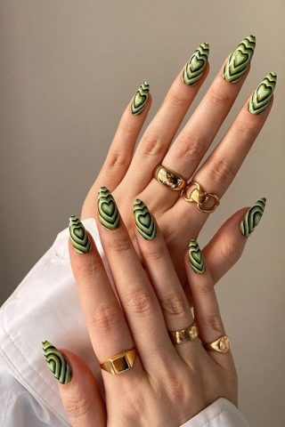 nail đơn giản cho học sinh cá tính