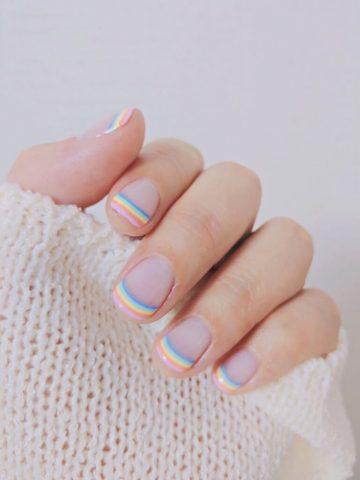 nail đơn giản cho học sinh
