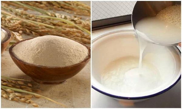 ủ tóc bằng nước gạo
