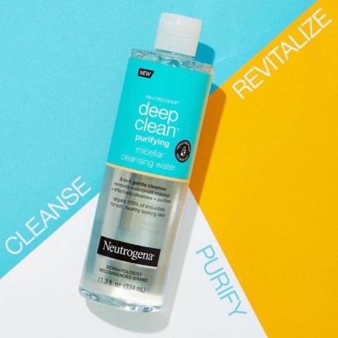 Nước tẩy trang cho da dầu mụn Neutrogena Deep Clean