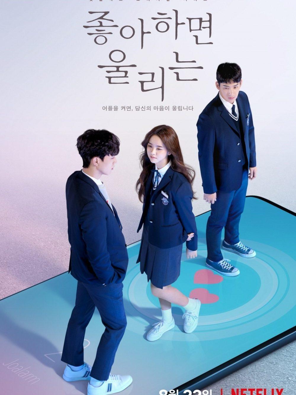 Chuông báo tình yêu 1, 2 - Phim tâm lý tình cảm Hàn Quốc học đường 2019