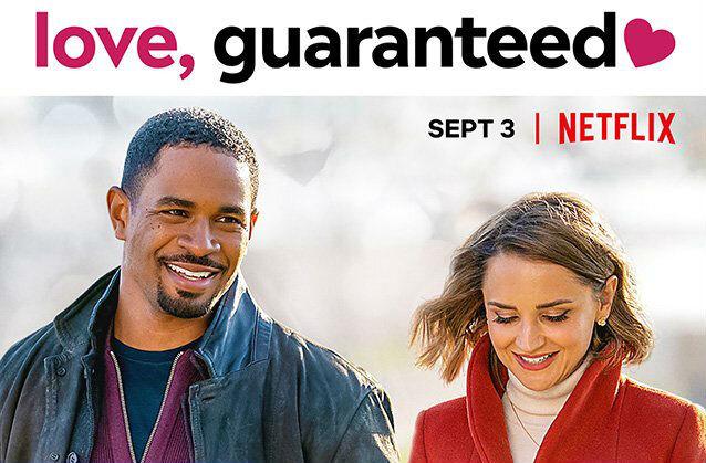 phim tình cảm hay nhất trên Netflix - Tình yêu có đảm bảo - Love guaranteed (2021)