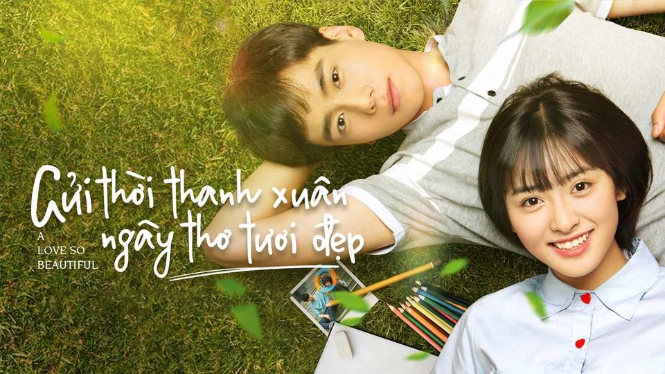 Phim ngôn tình Trung Quốc hay - Gửi Thời Thanh Xuân Ngây Thơ Tươi Đẹp - A Love So Beautiful