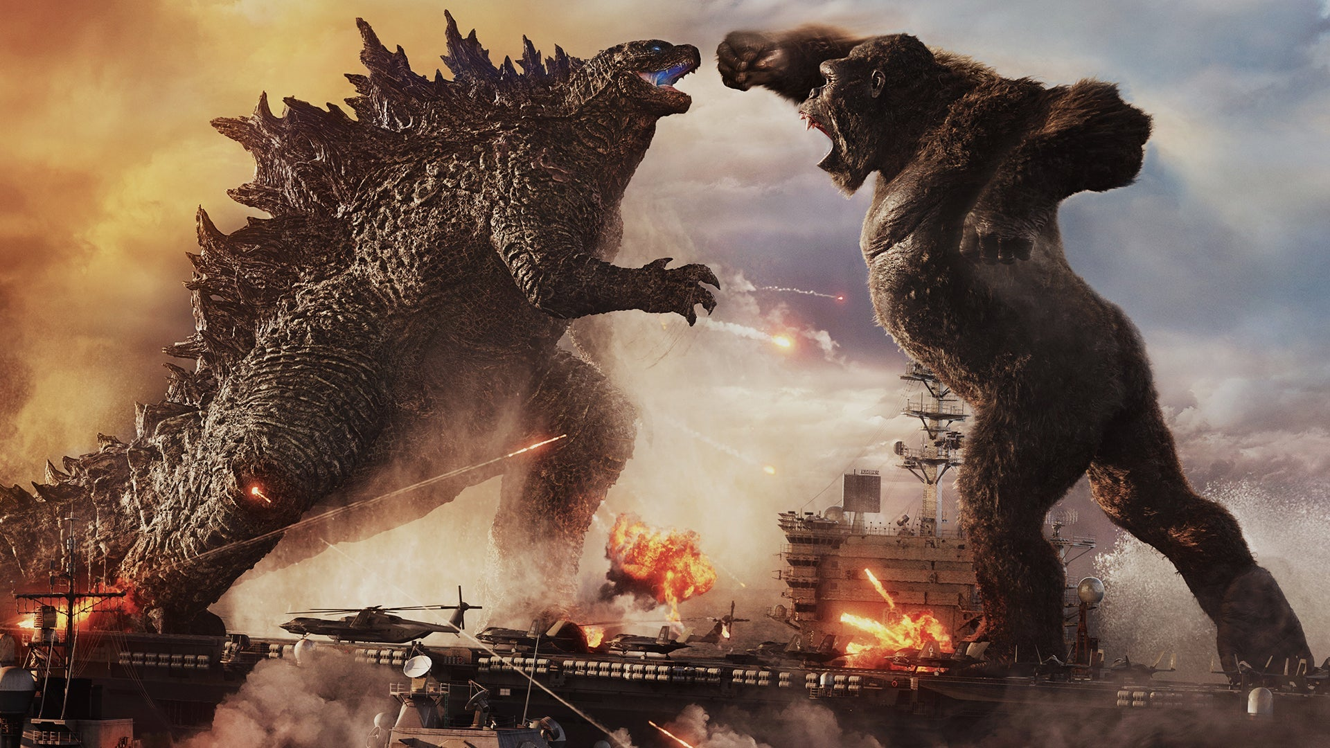 Phim hành động Mỹ khoa học viễn tưởng - Godzilla vs. Kong