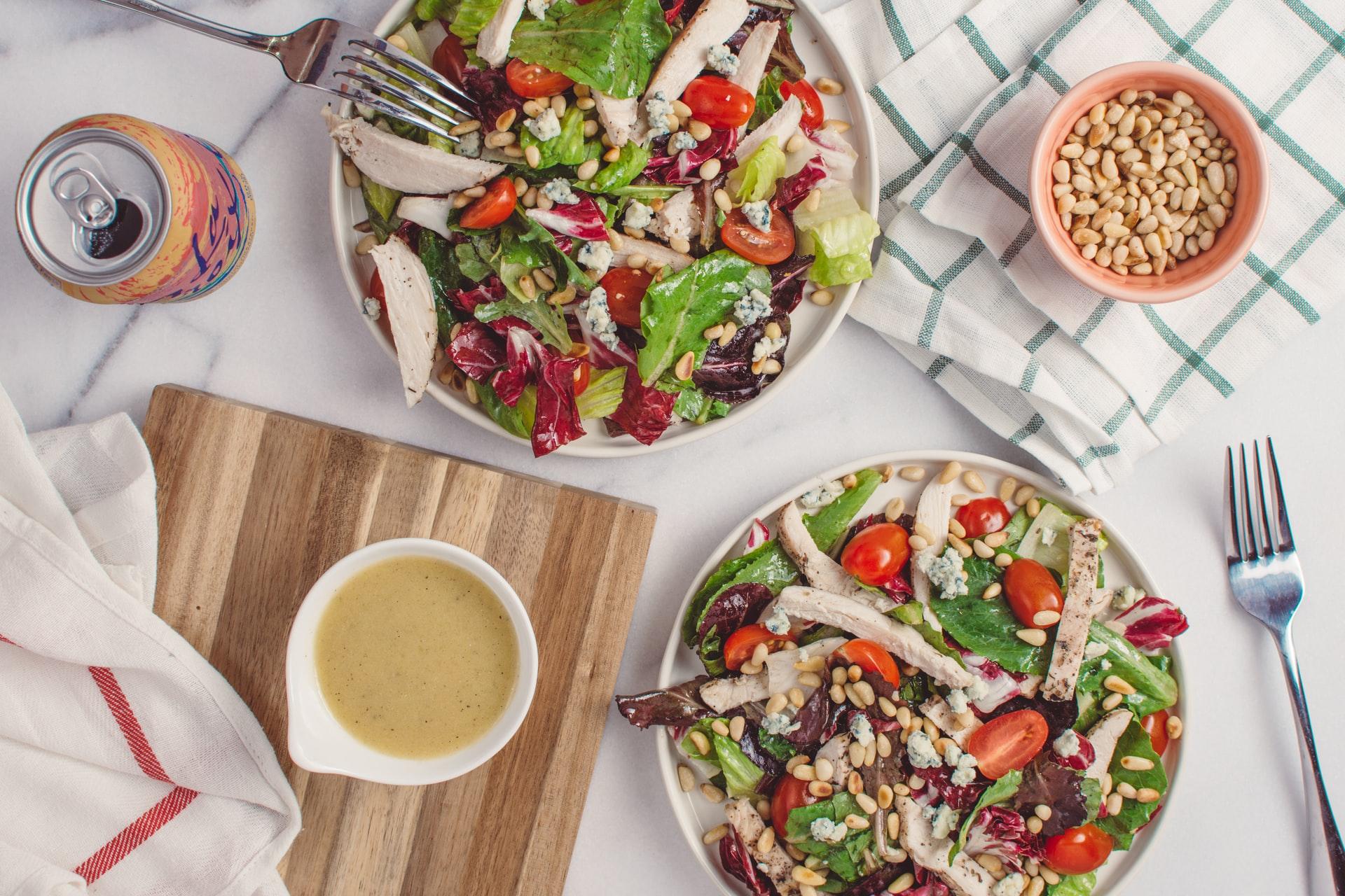 Salad sữa chua và ức gà - Đẹp 365