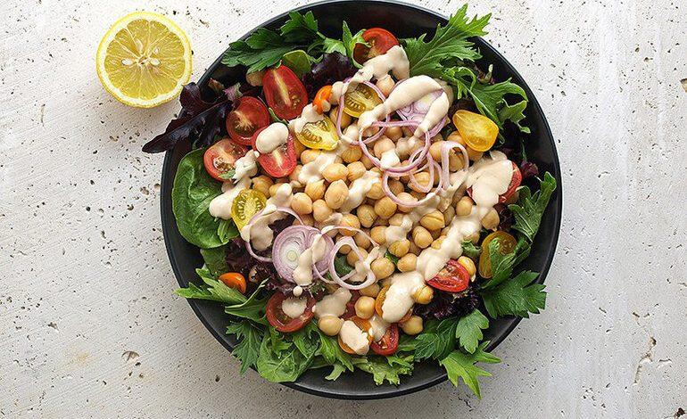 12 Cách làm salad giảm cân với sốt mè rang đẹp da tốt cho sức khỏe