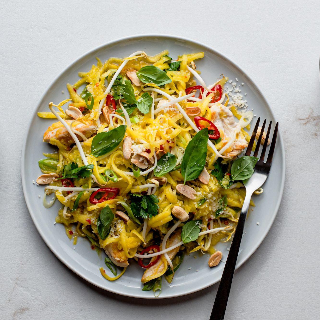 cách làm salad giảm cân với sốt mè rang