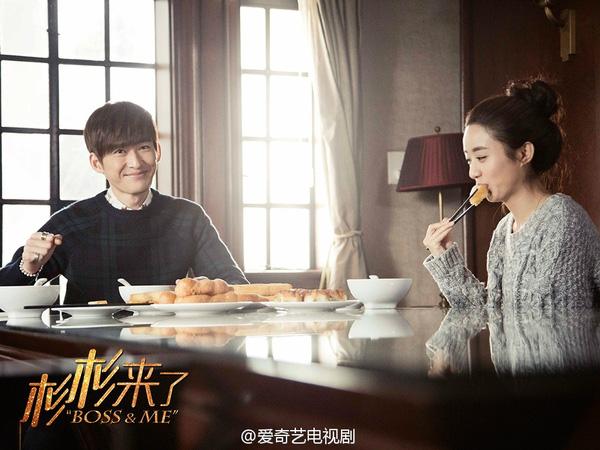 Phim ngôn tình Trung Quốc hay - Sam Sam Đến Đây Ăn Nè - Boss & Me