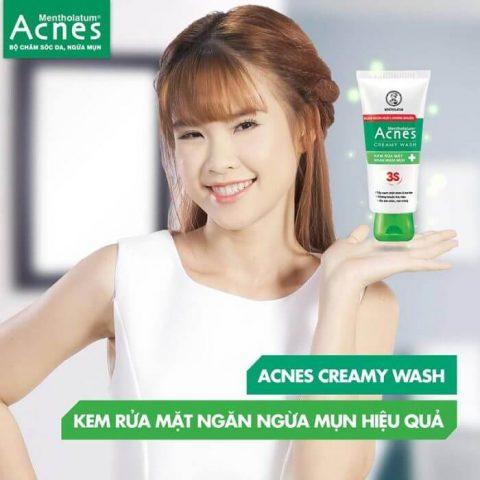 Sữa rửa mặt cho da mụn Acnes