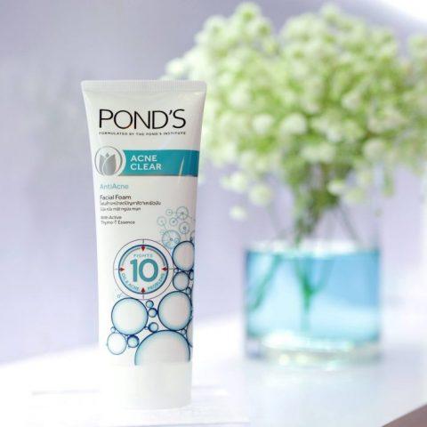 Cách sử dụng sản phẩm Pon's Acne Clear