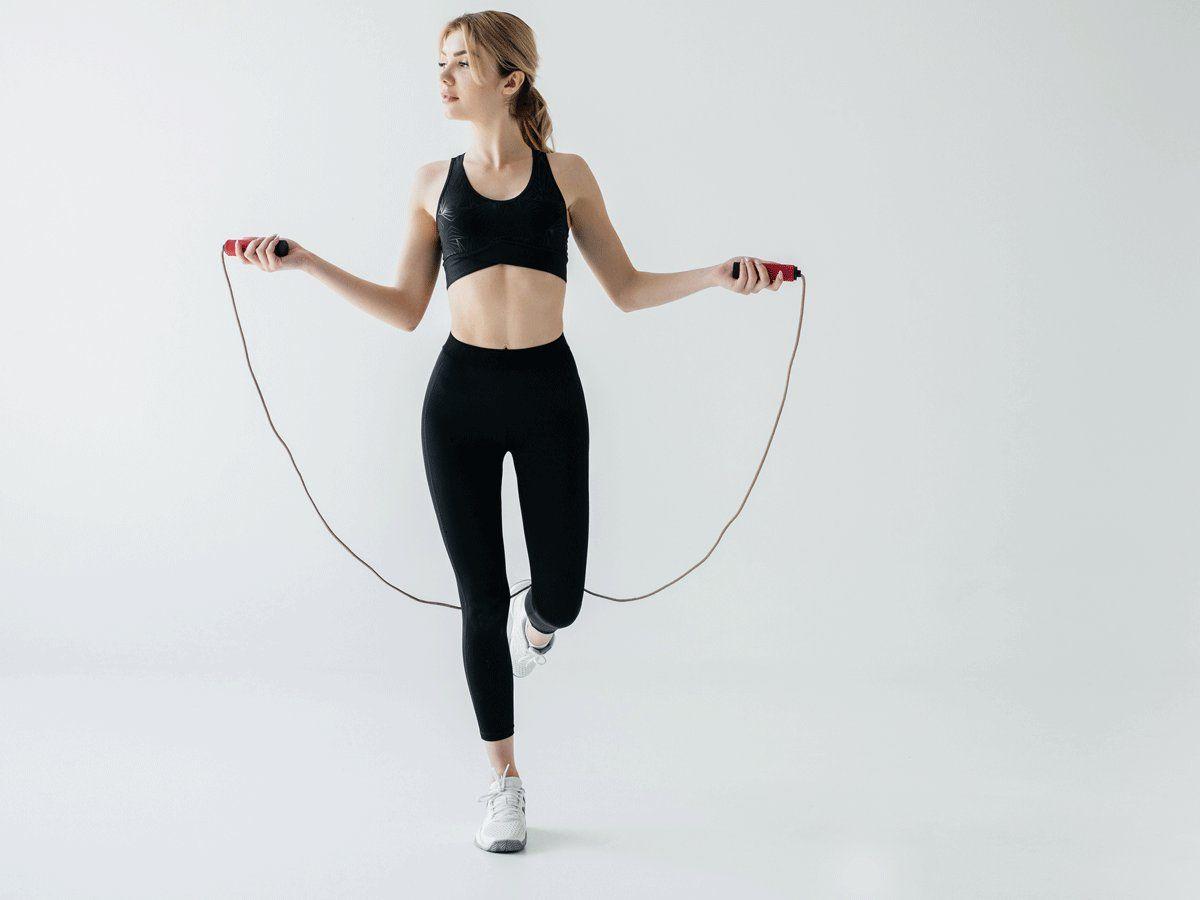Nhảy dây giảm mỡ bụng tại nhà - Đẹp 365