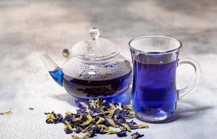 uống trà giảm mỡ bụng