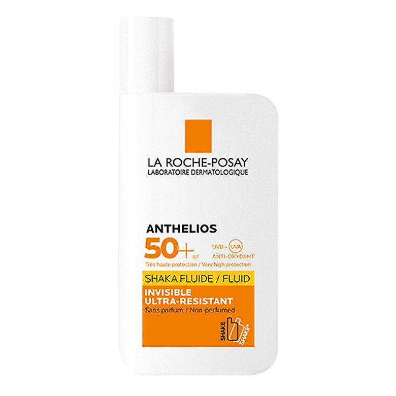 kem chống nắng hoá học La Roche-Posay Anthelios Invisible Fluid SPF 50+