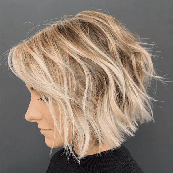tóc xoăn sóng