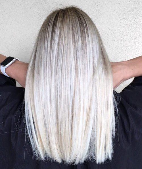 màu tóc bạch kim