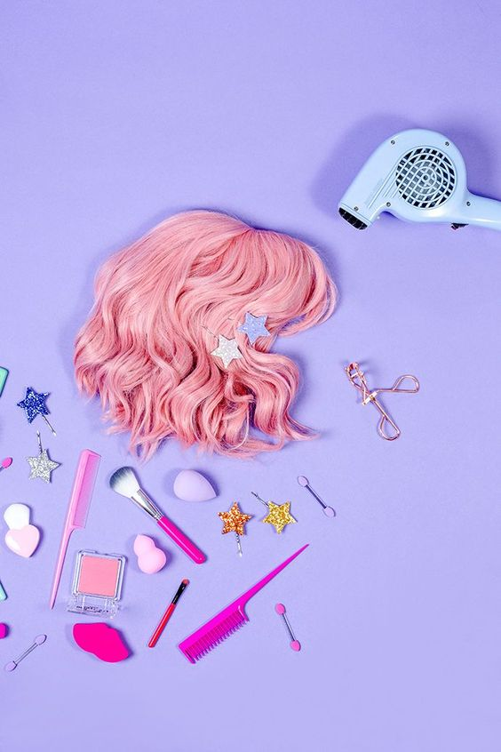 Colourful product photography and styling for fun brands!