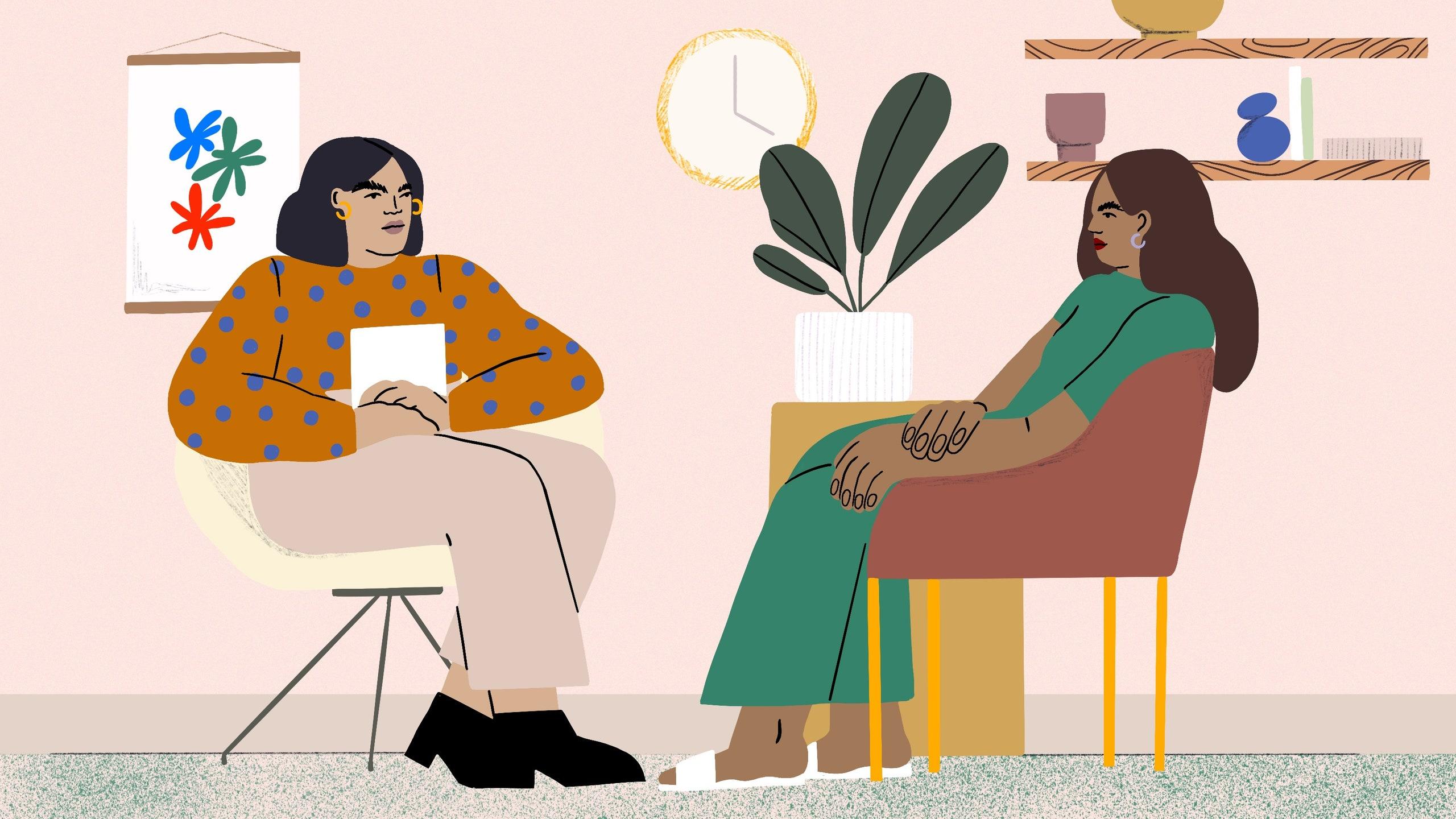 Image result for therapist illustration