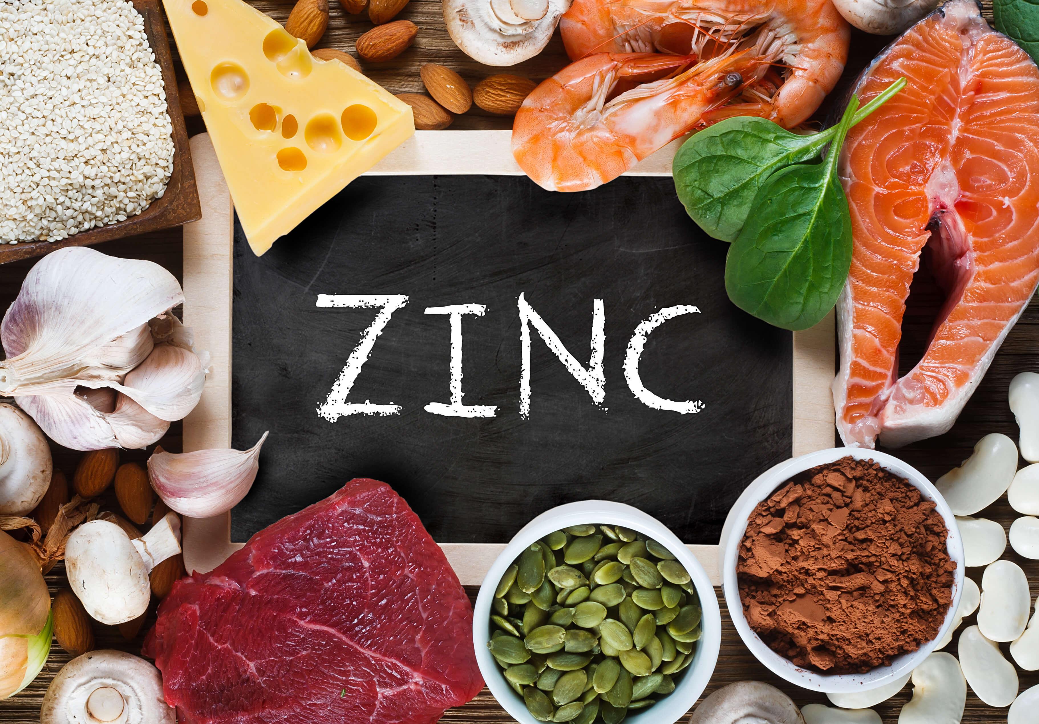 Image result for zinc food