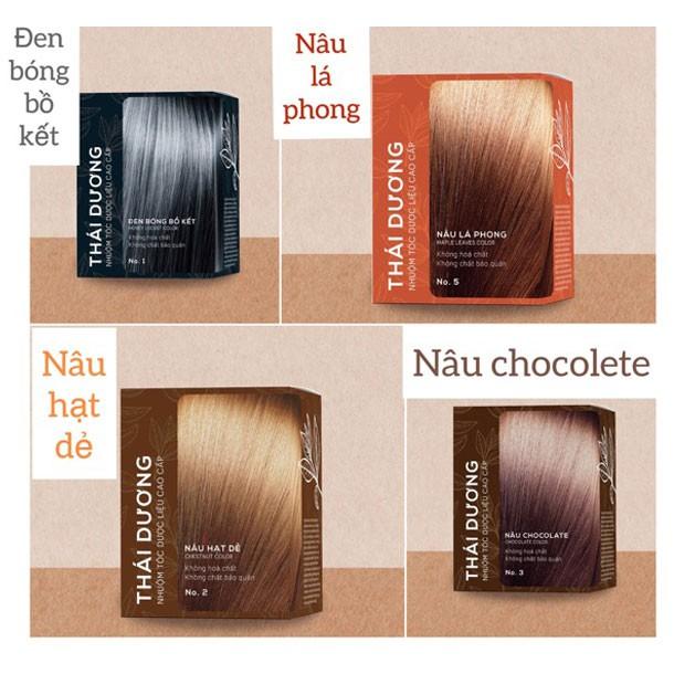 Nhuộm tóc dược liệu Thái dương chính hãng 17,500đ