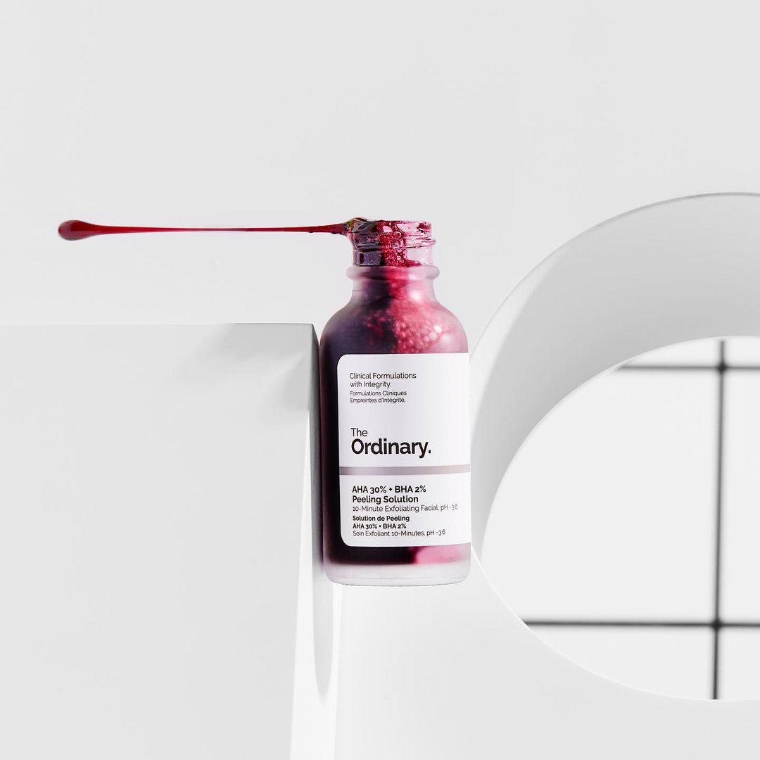tẩy tế bào chết BHA The Ordinary AHA 30% + BHA 2% Peeling Solution – Chemical Peel