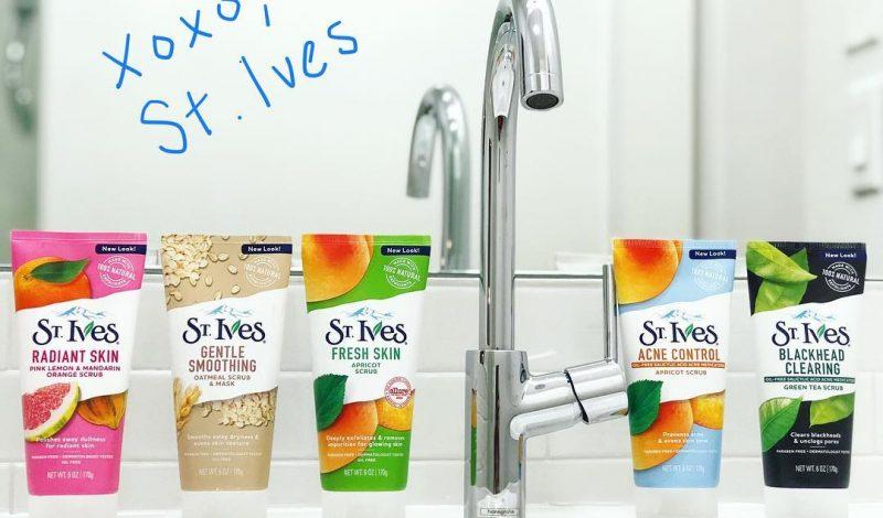 Review 8 sữa rửa mặt St. Ives 2in1 chiết xuất thiên nhiên cho các nàng lựa chọn