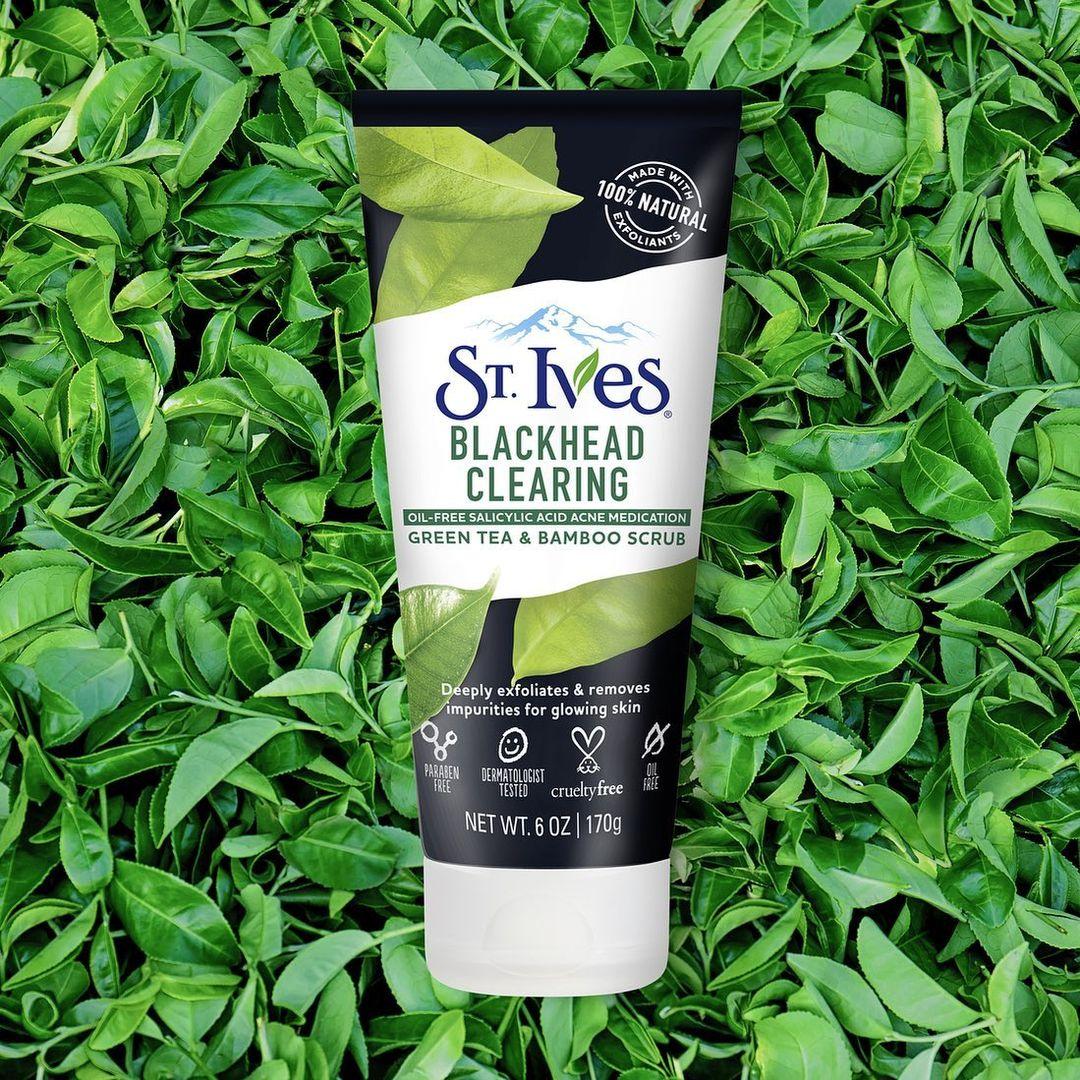 St Ives Blackhead Clearing Green Tea Scrub