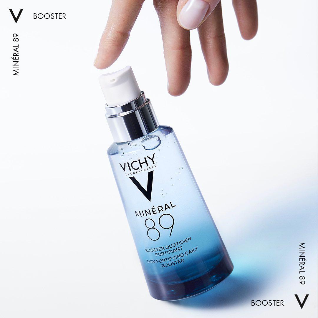 Vichy Mineral 89 serum cho da nhạy cảm