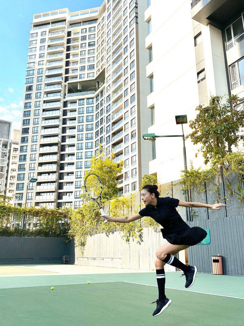 Thường xuyên rèn luyện thể thao - Bí quyết làm đẹp không thể thiếu của Ngô Thanh Vân