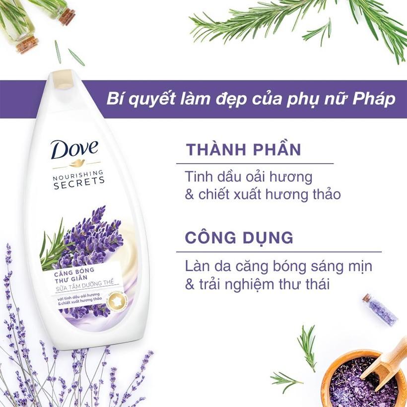 Dove Lavender - Nourishing Secrets Đẹp365