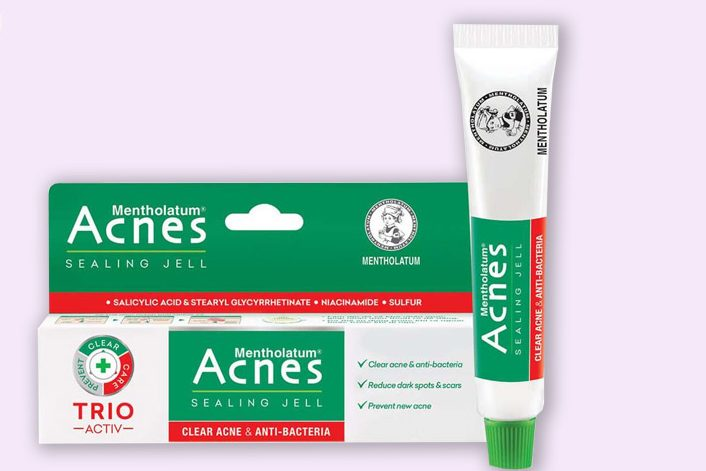 Kem trị mụn hiệu quả giá học sinh Acnes Sealing Jell