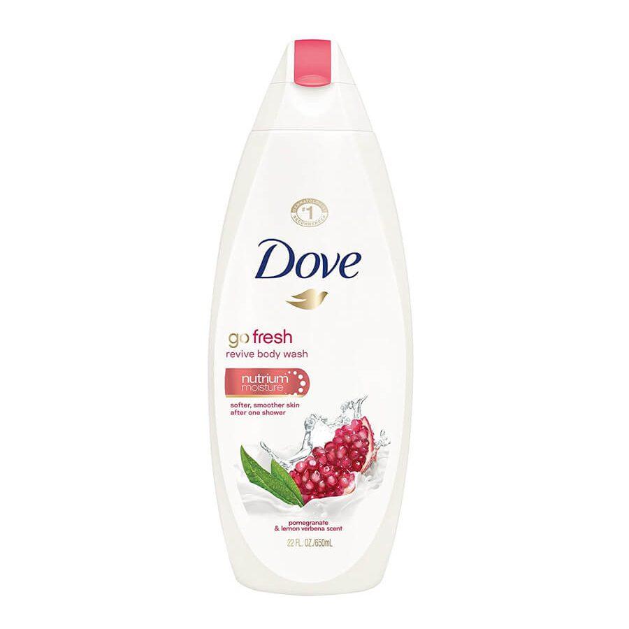 sữa tắm dove go fresh lựu đỏ