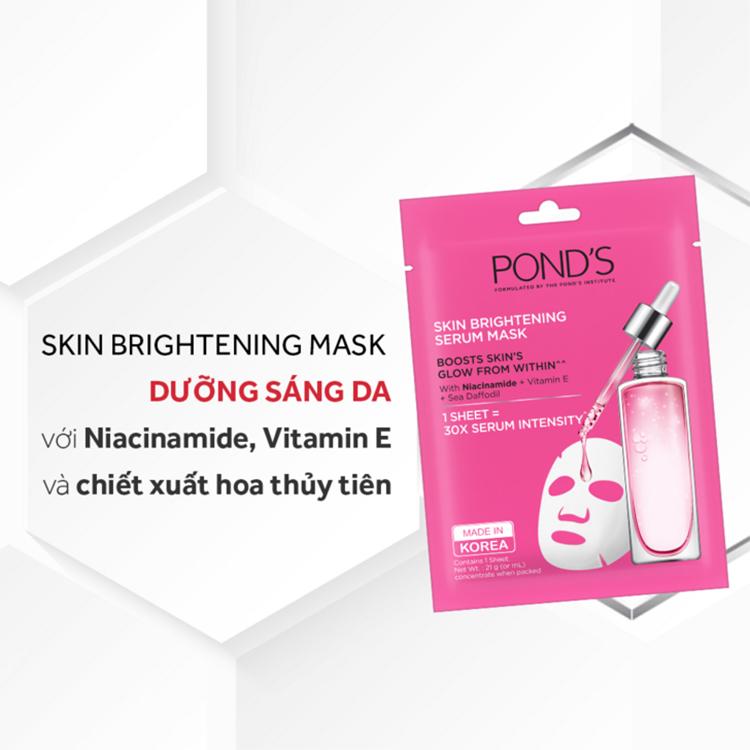 Mặt nạ Pond's màu hồng - Skin