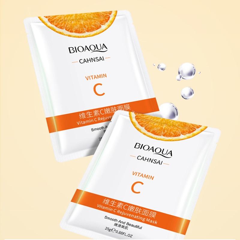 Mặt nạ Vitamin C Bioaqua