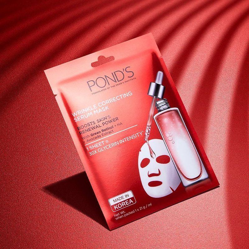 mặt na lão hóa Wrinkle Correcting Serum Mask