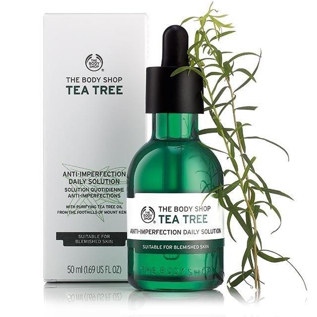 kem trị mụn giá học sinh Gel chấm mụn Tea Tree của The Body Shop