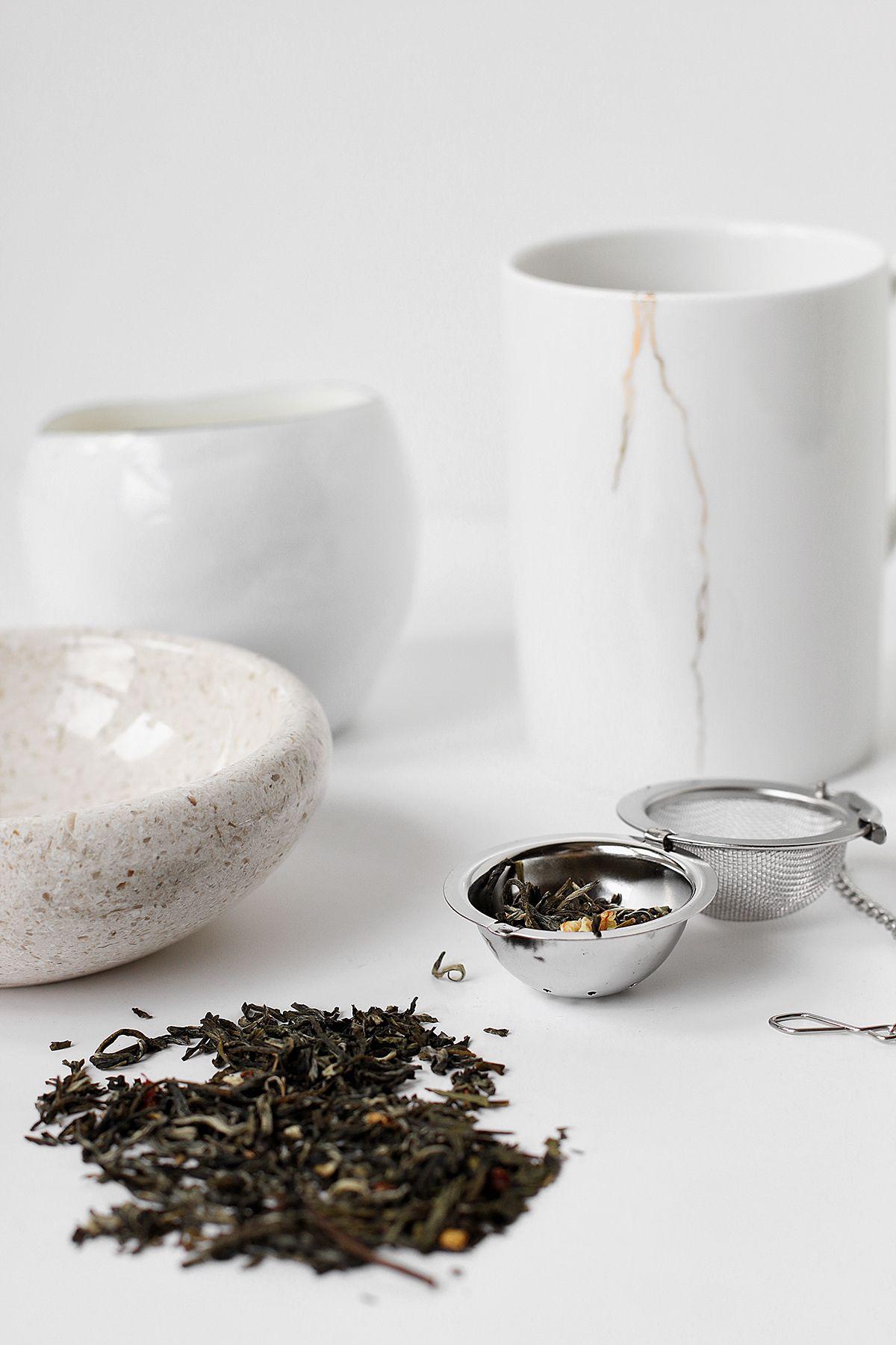 làm kem dưỡng da mặt với trà xanh