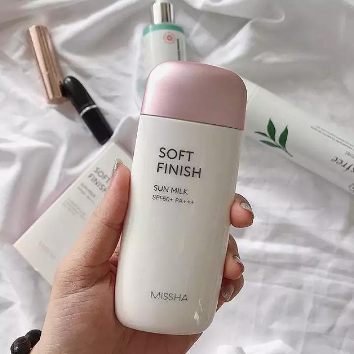 mỹ phẩm Hàn Quốc Kem Chống Nắng Missha Soft Finish SPF 50+