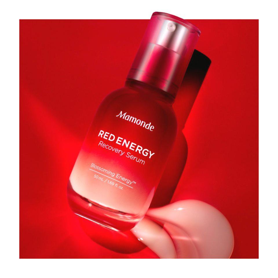 mỹ phẩm Hàn Quốc Mamonde Red Energy Recovery Serum