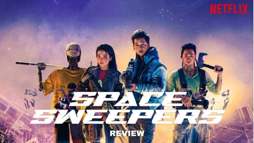 Phim lẻ Hàn Quốc hay năm 2021 - 1. Con tàu chiến thắng - Space Sweepers
