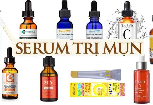 [Review] TOP 16 serum trị mụn hiệu quả nhất 2021 giá từ 210K
