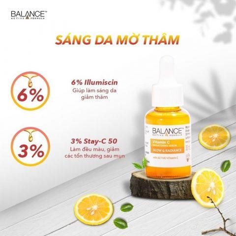 Balance Vitamin C Brightening Serum Glow & Radiance