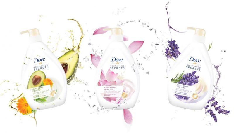 Review 10 sữa tắm Dove trắng da thơm lâu dưỡng ẩm hiệu quả nhất